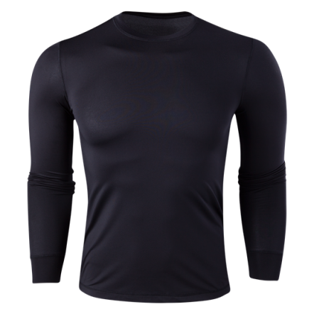 Team Long Sleeve Base Layer (Black)