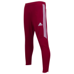 Adidas Tiro 17 Training Pants (Red and White)