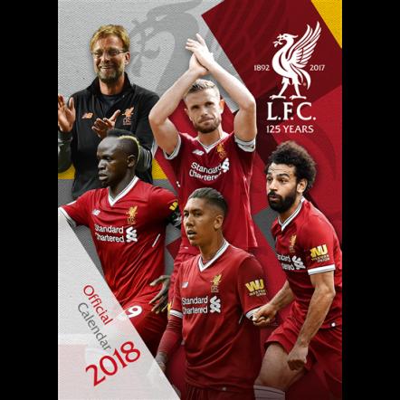 Liverpool 2018 Calendar
