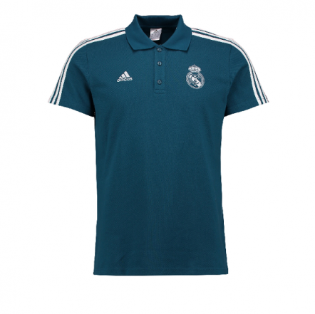 Adidas Real Madrid 17/18 3 Stripe Polo