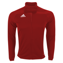 Adidas Tiro 17 Training Jacket (Full Red)