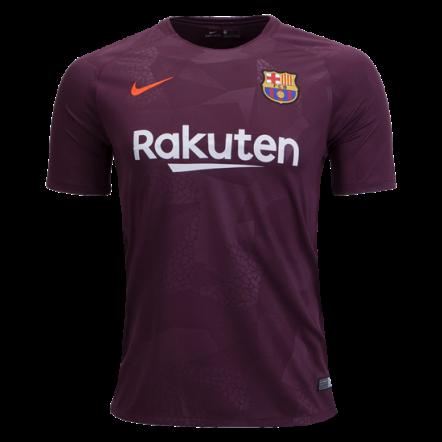Nike Barcelona Third Jersey 17/18