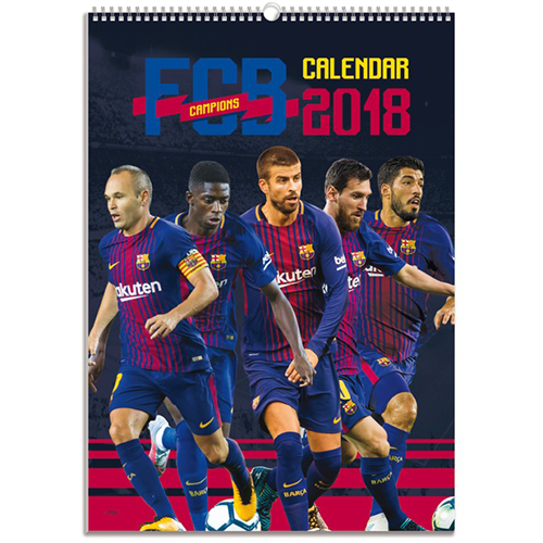 Barcelona 2018 Calendar