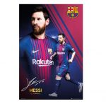 Barcelona Lionel Messi 10 Poster 17/18