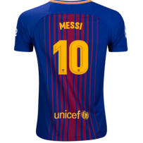 Nike Lionel Messi Barcelona Youth Home Jersey 17/18