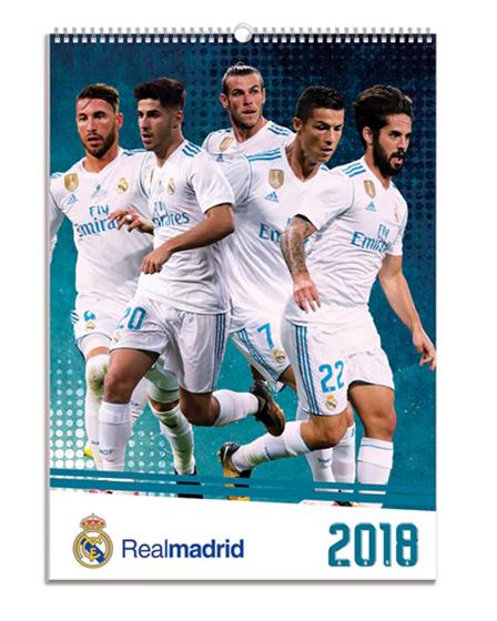 Real Madrid 2018 Calendar
