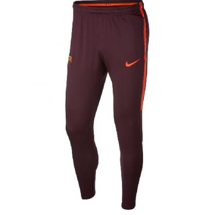 Nike FC Barcelona 17/18 Dry Track Pant KPZ - Maroon/Hyper Crimson