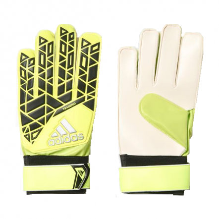 Adidas Ace Training Goalkeeper Glove - Solar Yellow/Black/Onix