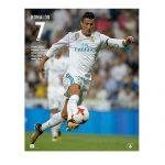 Real Madrid Cristiano Ronaldo 7 Poster 17/18