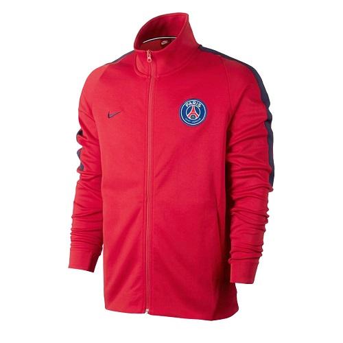 Nike PSG 1718 NSW Authentic Jacket - RedNavy