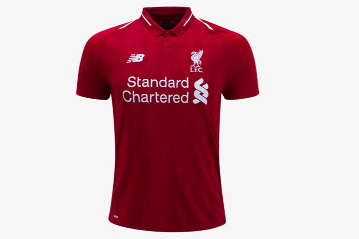 New Balance Liverpool Home Jersey 18/19