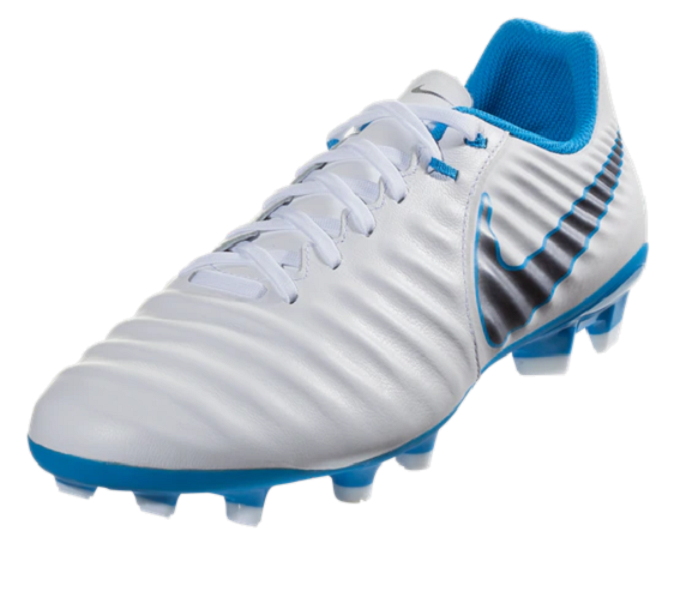 Genuino electo científico  Nike Tiempo Legend VII Academy FG - White/Metallic Cool Grey/Blue Hero |  Futbolista World | Cayman Islands Football Store