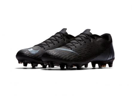 Nike Mercurial Vapor XII Academy MG (Black/Black)