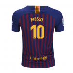 Nike Messi FC Barcelona Youth Home Jersey 18/19