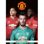 Manchester United 2019 Calendar